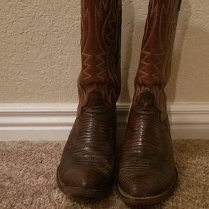 DAN POST Cowboy boots Teju Lizard